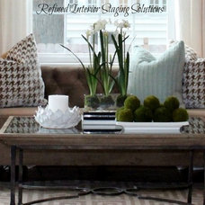 Transitional  by Refined Interior Staging Solutions