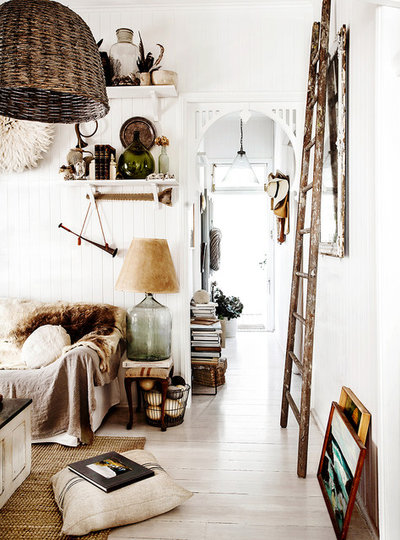 Eclectic Living Room by Kara Rosenlund