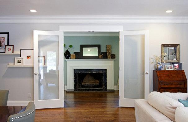 Transitional Living Room by Kara Weik