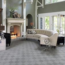 Contemporary Living Room by AJ Rose Carpets & Flooring