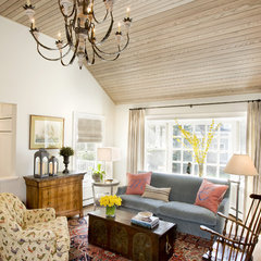eclectic living room by Karen Joy Interiors