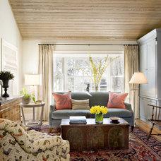 Eclectic Living Room by Karen Joy Interiors