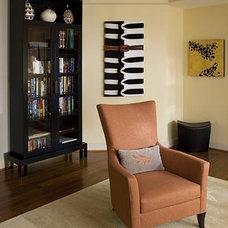 Contemporary Living Room by Karen Luria Interior Identity Inc.