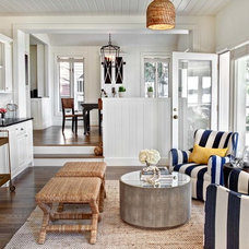 Beach Style Living Room by Marcel Page Photography