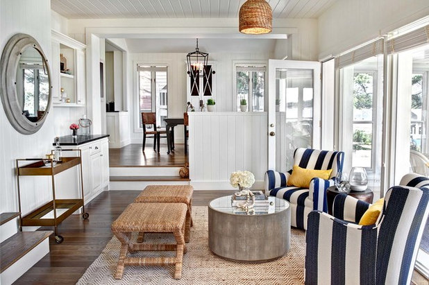 Coastal Living Room by Marcel Page Photography