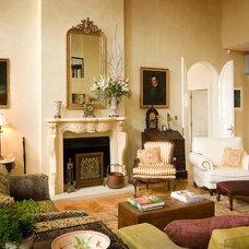 Eclectic Living Room by Kate Platt Designs
