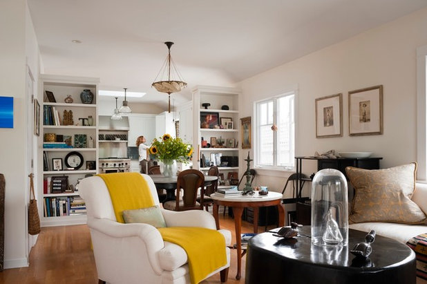 Eclectic Living Room by Katerina Tana Design
