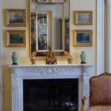 Traditional Living Room by Kathleen Burke Design