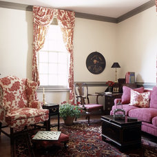 Traditional Living Room by Kathryn Arnold Design