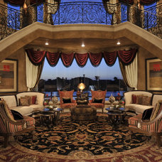 Traditional Living Room by The Design Firm