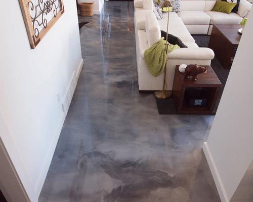 Epoxy floor home design ideas renovations amp photos
