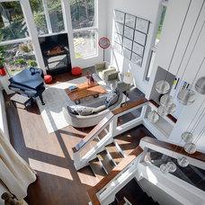 Contemporary Living Room by Keller Studio Inc.