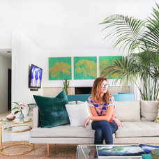 Beach Style Living Room by Homepolish