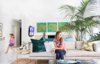 Room of the Day: A Playful Palm Springs Style in L.A.
