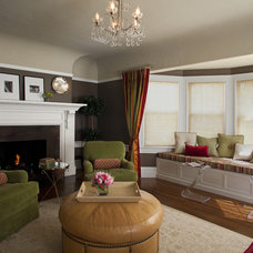 Traditional Living Room by Kelly Scanlon Interior Design