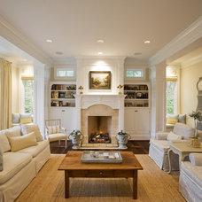 Traditional Living Room by R.S. Stapleton Company - Custom Cabinetry