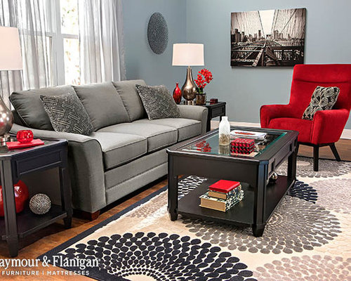 Raymour Flanigan Living Room Design Ideas Remodels Photos