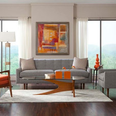 Midcentury Living Room by Dane Design Contemporary Furniture