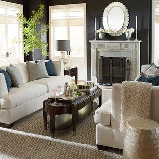 Example Of A Minimalist Living Room Design In Other. Save Photo. Kennedy  Sofa By Bassett Furniture