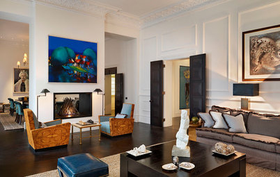 Houzz Tour: 2 London Apartments Join to Become a Luxe Family Home