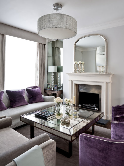 purple and grey living room ideas and photos houzz