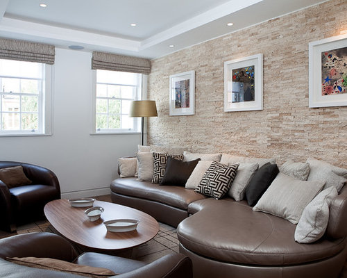 living room feature wall feature wall tile houzz 16563