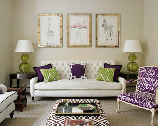 Purple Green Houzz