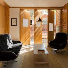 Contemporary Living Room by Tandem Design studio