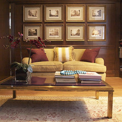 traditional living room by Clemente Beaubien Ltd