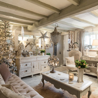 Shabby-Chic Style London Living Space