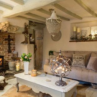 Shabby-Style Wohnzimmer in London
