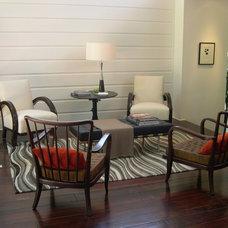 Contemporary Living Room by valerie pasquiou interiors + design, inc