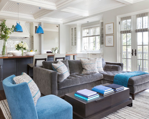 Blue Accents Houzz