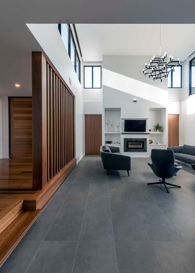 Contemporary Living Room by Big House Little House