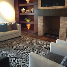 Contemporary Living Room by Hemphill's Rugs & Carpets