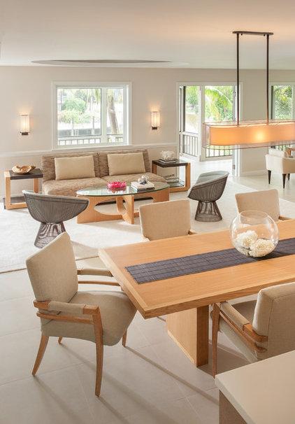 Modern Living Room by Michael Wolk Design Associates