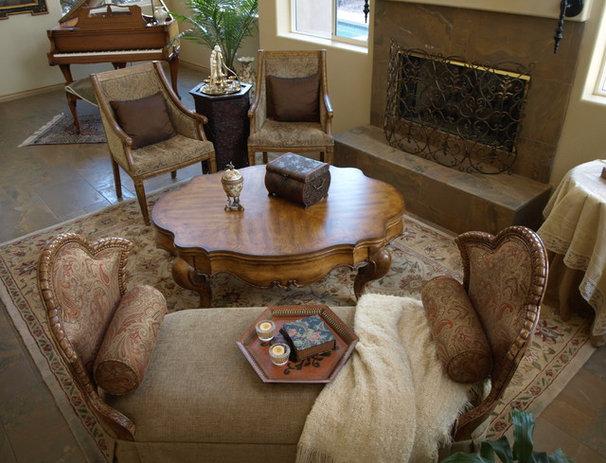 Mediterranean Living Room kgrahi