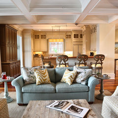 traditional living room by Margaret Donaldson Interiors