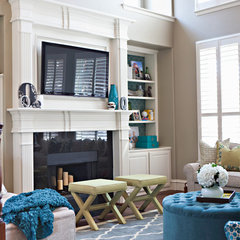 eclectic living room by Abbe Fenimore Studio Ten 25