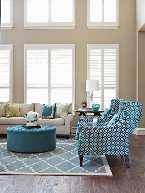 Tan And Blue Living Room Ideas & Photos | Houzz