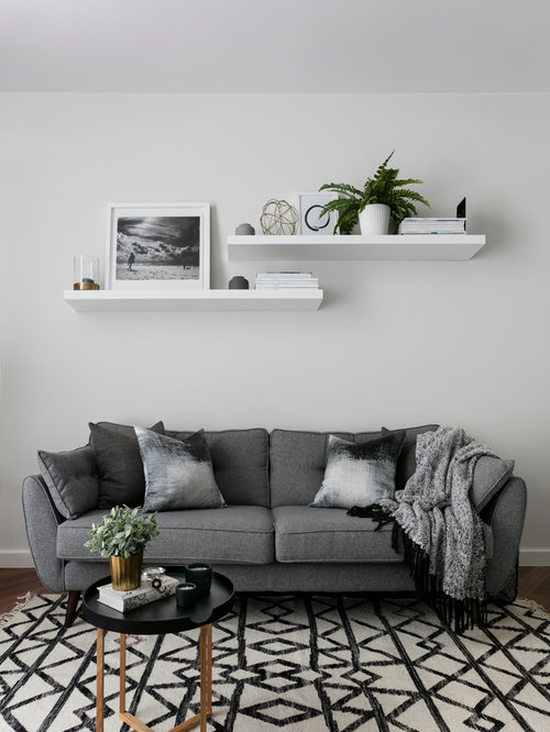 Scandinavian Living Room Design Ideas Remodels Photos