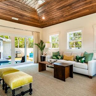 75 Beautiful Tropical Living Room