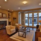 Jane Lockhart Interior Design Transitional Living Room