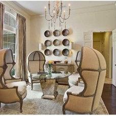 Living Room by Maria Barcelona Interiors, LLC