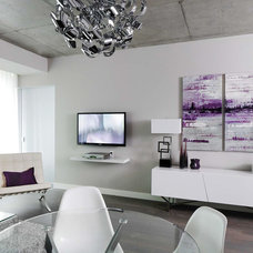Modern Living Room by Stephani Buchman Photography