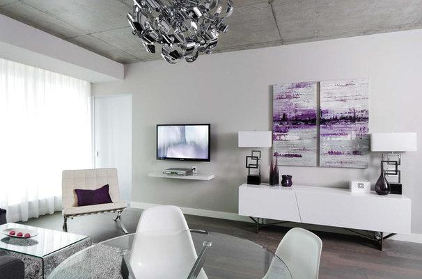 Modern Living Room by Stephani Buchman Photography