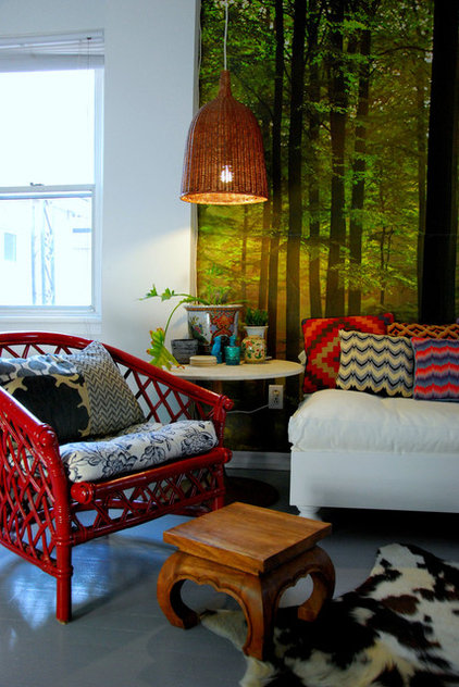 Eclectic Living Room by Desire to Inspire
