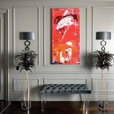 Eclectic Living Room by Nest Design Studio