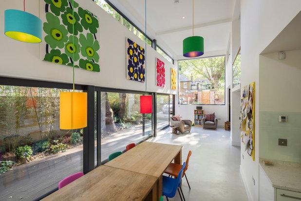 コンテンポラリー 居間 by Thomson Lavers Architects Ltd