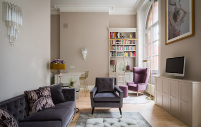 Houzz Tour: Jewel Tones Bring Out the Beauty in a City Apartment